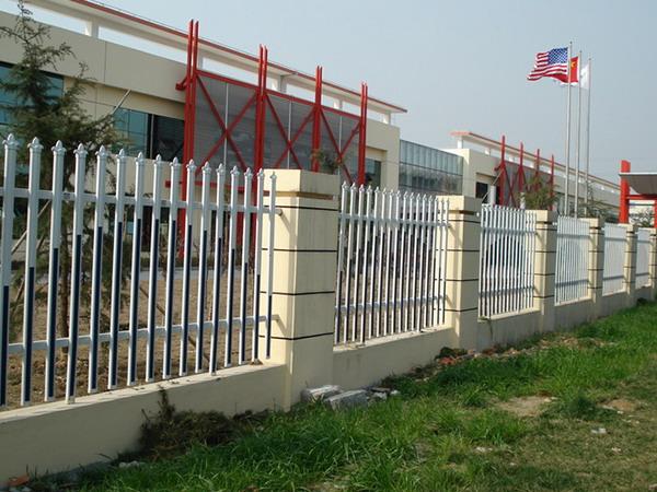 PVC社区护栏